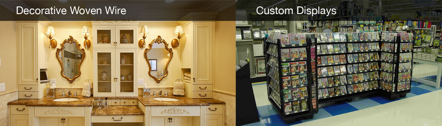 Kent Design - Decorative Woven Wire & Custom Displays